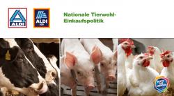 Aldi Nord & Süd: Gemeinsame Tierschutz-Einkaufspolitik