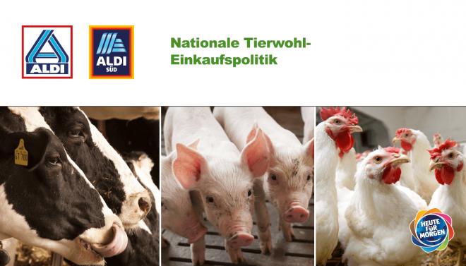 ALDI Nationale Tierwohl-Einkaufspolitik
