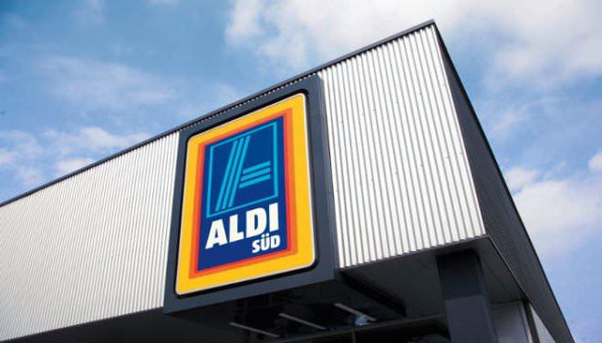 Aldi-Süd-Filiale von außen