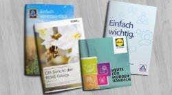 Nachhaltigkeitsberichte von Aldi Nord, Süd, Lidl & Rewe